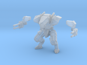 15mm scale mech -  Guardian in Smooth Fine Detail Plastic