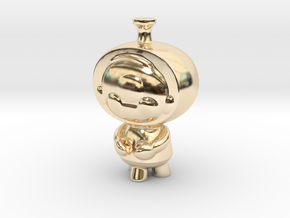 mini melly in 14k Gold Plated Brass