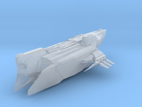 Star Ship in Smooth Fine Detail Plastic