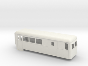 009 articulated railcar driving trailer with lugga in White Natural Versatile Plastic