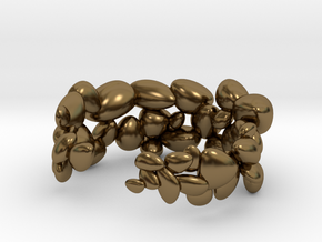BeachStones Ring - Size 6 in Polished Bronze