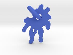 Splashed Droplet in Blue Strong & Flexible Polished