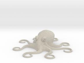 Octopus Mini - Toys in Natural Sandstone