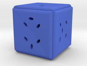 Dice164 in Blue Processed Versatile Plastic