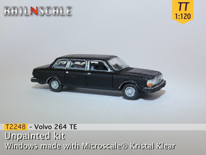 Volvo 264 TE (TT 1:120) in Smooth Fine Detail Plastic
