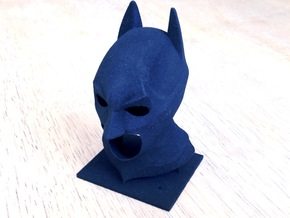 The Dark Knight Cowl in Black Natural Versatile Plastic