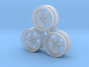 CATERHAM REVOLUTION 5x Spoke x3 Frosted Ultra Deta in Smooth Fine Detail Plastic