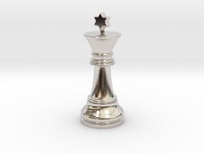 Single Chess King Star Big | Timur Prince Vizir in Platinum