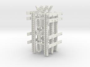 YOYOTURBOSANDSIGNS528FINALoscale in White Natural Versatile Plastic