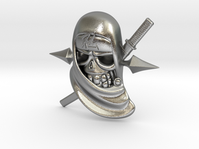Ninja in Natural Silver