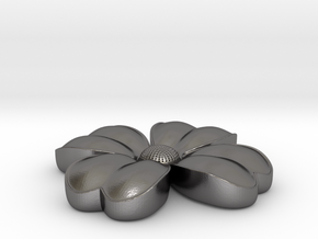Flower coulomb in Polished Nickel Steel