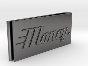 Moneyclip V2 in Polished Nickel Steel