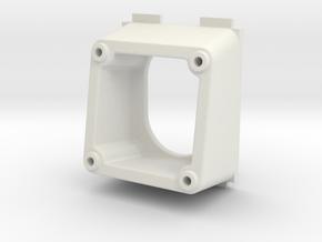 QAV250 FPV Camera Mount (PZ0420M, 10 degrees) in White Natural Versatile Plastic