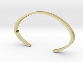 Cuff in 18k Gold Plated Brass