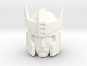 Prowl G1 Head 12mm  in White Processed Versatile Plastic