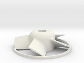 5 Blade EDF26.5 in White Natural Versatile Plastic