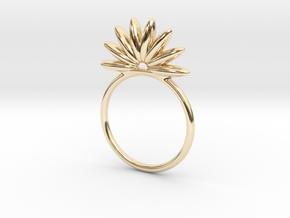 Demi Flower Ring in 14K Yellow Gold