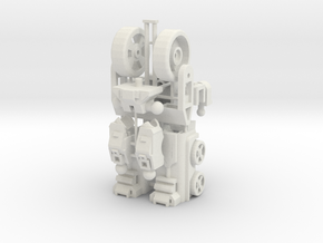 Customatron - Landformer - Base Kit in White Strong & Flexible
