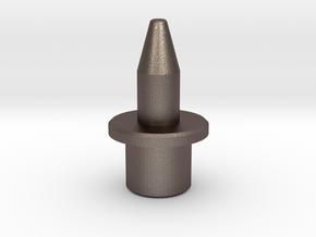 Locator-pin-Metal-m6 in Polished Bronzed Silver Steel