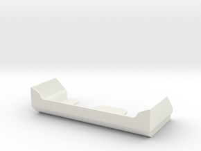 B5m Wing will also fit the 22 buggy in White Natural Versatile Plastic