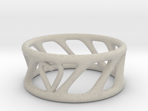 Cool Ring Two in Natural Sandstone