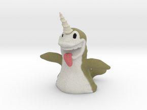 Narwhal in Full Color Sandstone
