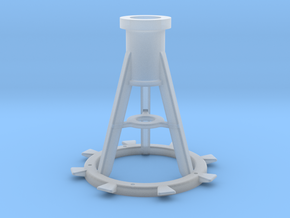 1:16 20mm Pedestal, Late in Smooth Fine Detail Plastic