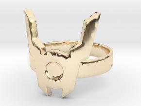 Red Lantern Guy Gardner Ring Size 10.5 in 14K Gold