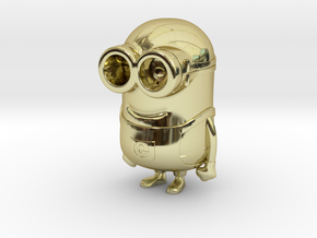 Minion - Despicable Me in 18K Gold Plated