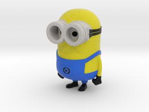 Minion - Despicable Me in Full Color Sandstone