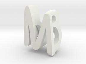 MB MakerBlast pendant in White Natural Versatile Plastic