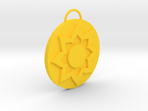 Mortal Kombat White Lotus Pendant in Yellow Processed Versatile Plastic