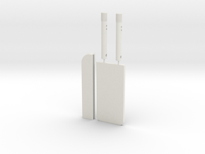 Anti-Security Blade ST/PP1 & ROTJ (3rd shin tool) in White Natural Versatile Plastic