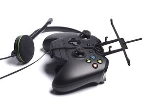 Xbox One controller & chat & verykool s4010 Gazell in Black Natural Versatile Plastic
