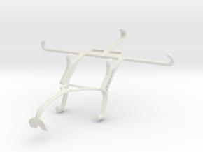 Controller mount for Xbox 360 & vivo X3S in White Natural Versatile Plastic