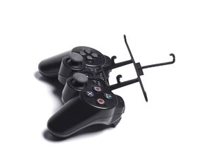 PS3 controller & Yezz Andy 4E2I - Front Rider in Black Natural Versatile Plastic