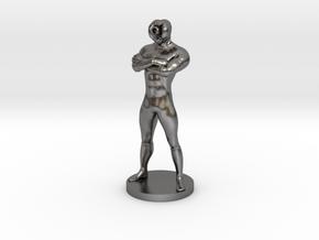 Captain Tardigrade in Polished Nickel Steel