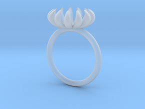 Opening Smaller Bloom ring in Smoothest Fine Detail Plastic