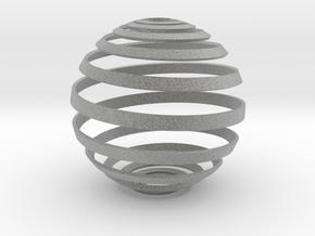 Loxodrome ornament in Metallic Plastic