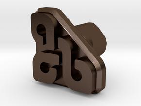 Finishing Tool - Corner 1 in Polished Bronze Steel