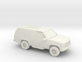 1/87 1999 Chevrolet Blazer in White Natural Versatile Plastic