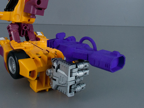 Combiner Wars Shockwave Pistol in Purple Strong & Flexible Polished