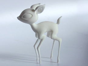 Baby Deer! in White Natural Versatile Plastic