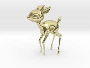 Baby Deer! in 18k Gold