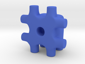 Tiny Hash Ugly Friend in Blue Processed Versatile Plastic
