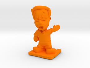 Designer Dan of Steel 2014 in Orange Processed Versatile Plastic