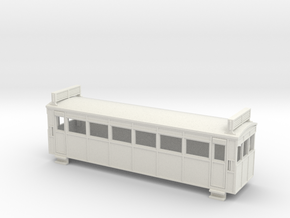 009 Drewry bogie railcar with roof radiators in White Strong & Flexible