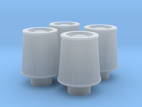 1/18 K&N Cone Style Air Filters TDR 1047 in Frosted Ultra Detail