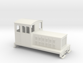 HOn30 Endcab conversion 3 for Kato 11-105 chassis in White Natural Versatile Plastic