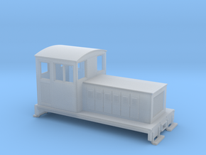 HOn30 Endcab conversion 1 for Kato 11-105 chassis in Frosted Ultra Detail